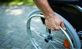 rolstoel arbeidsongeschikt